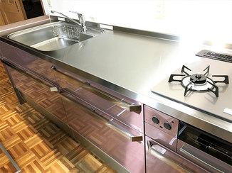 キッチンリフォーム I型に変え使いやすさバツグンのハイグレードキッチン