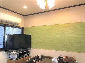 内装リフォーム クロス張替えと、腐食の心配のない浴室周りのリフォームで、きれいで暮らしやすい家へ