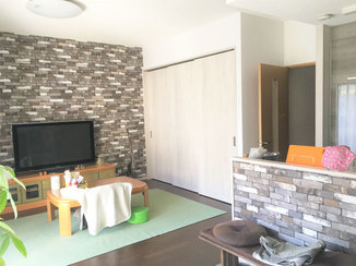 キッチンリフォーム 吊戸棚と間仕切り壁をなくし、開放感あふれる空間になったLDK