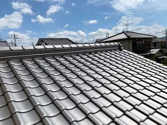 外壁・屋根リフォーム 瓦を葺き替え、今後の災害に備えた屋根